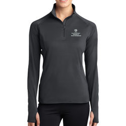 CEHD Ladies Sport Wick 1/2 Zip Pullover Thumbnail