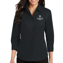 TLAC Ladies 3/4 Sleeve Easy Care Shirt Thumbnail