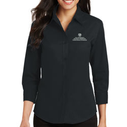 EAHR Ladies 3/4 Sleeve Easy Care Shirt Thumbnail