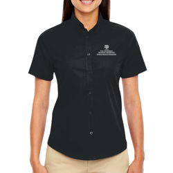 EAHR Optimum Ladies' S/S Twill Shirts Thumbnail