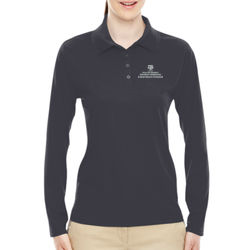 EAHR Ladies' Pinnacle Performance L/S Polo Thumbnail