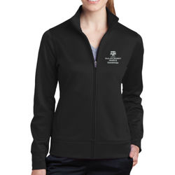 HLKN Ladies Sport Wick FZ Jacket Thumbnail