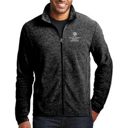 HLKN Heather Microfleece Full-Zip Jacket Thumbnail